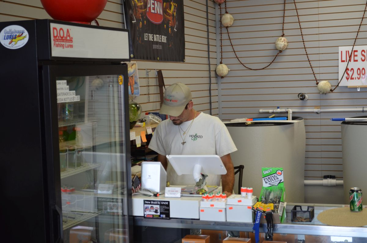 Fishing glossary s stuart bait tackle shop hooked up for Fishing bait store