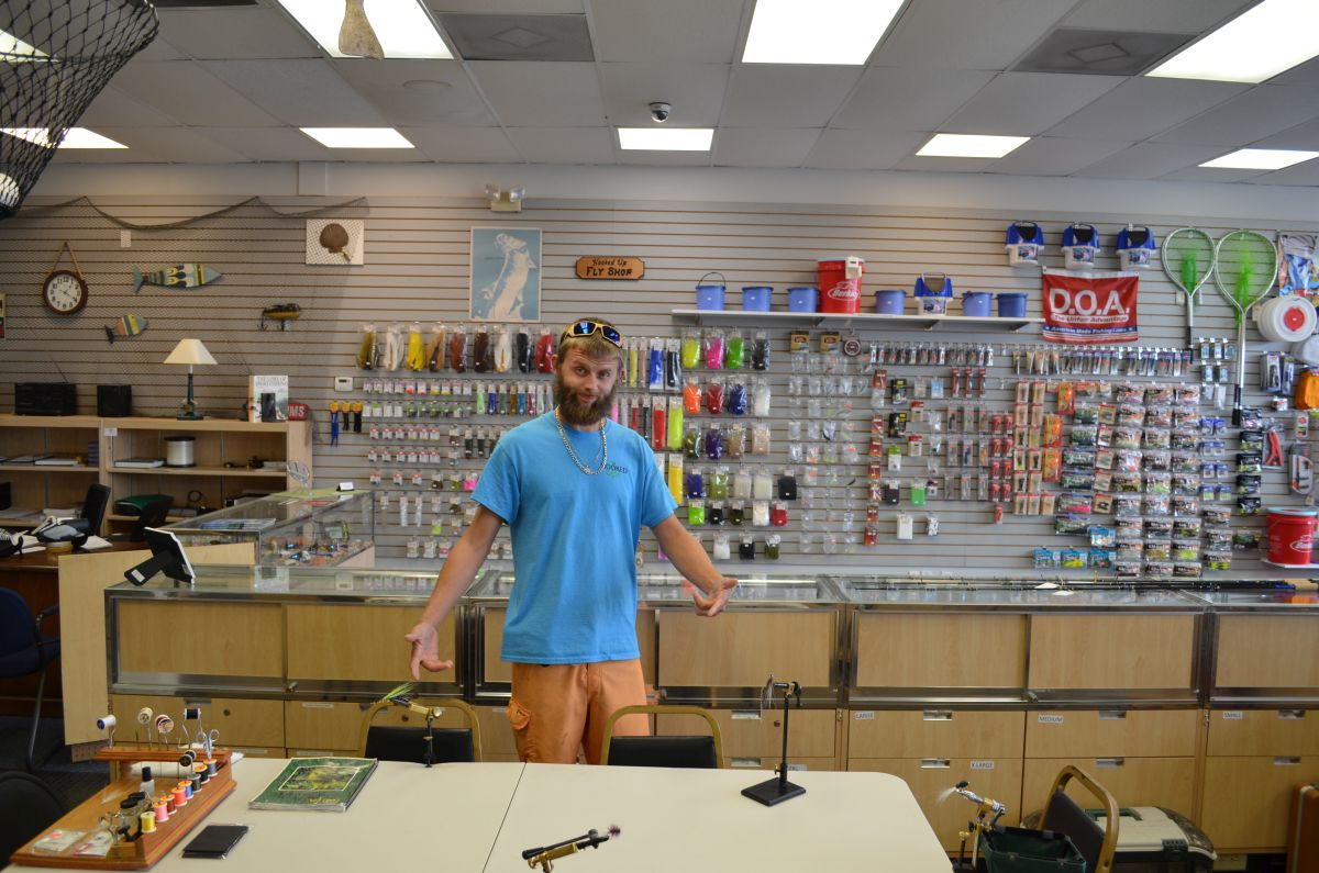 Bait and tackle for Fishing equipment stores