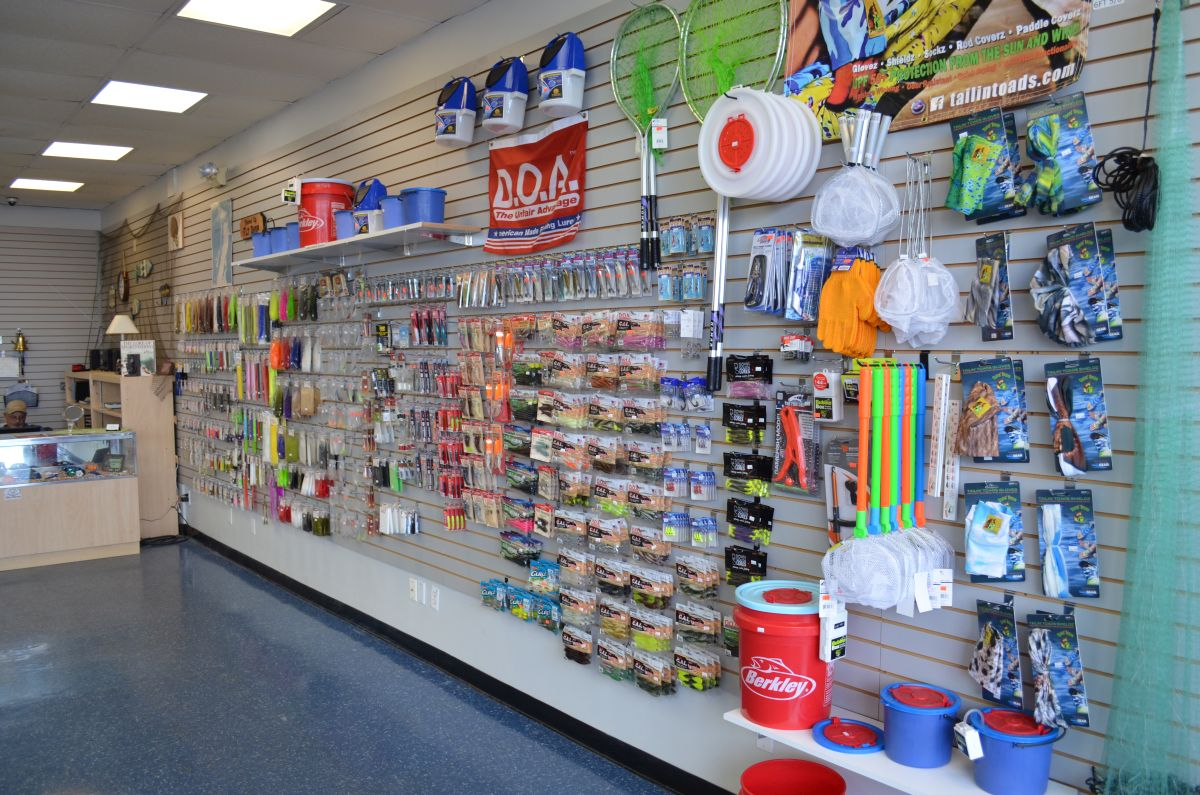 hook up fishing store